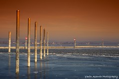 Winterhafen (Yarin Asanth) Tags: gerdkozikfotografie yarinasanthphotography lake constance orange blue ice habour moos hardwarefilter germany passion sky radolfzell gerdmichaelkozik
