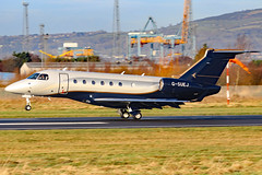 G-SUEJ (GH@BHD) Tags: gsuej embraer emb emb550 legacy legacy500 sxn saxonair saxonaircharter bhd egac belfastcityairport bizjet corporate executive airliner aircraft aviation
