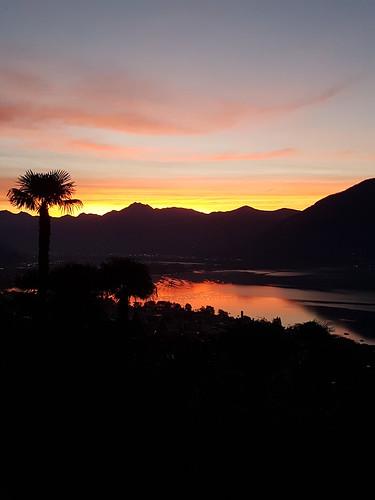 Prachtvoller Sonnenaufgang