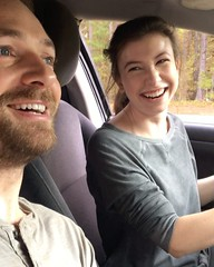 """""""Greasy"""" Lead vocals @katelynnacon Backup vocals @rossmarquand . . . @walkingdead_amc #bts https://t.co/fqNaMRFCfY - Posted by Ross Marquand (Aaron) (WalkingDeadCast) Tags: aaron alexandrians"""