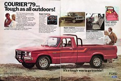 1979 Ford Courier Pickup Truck Advertisement Hot Rod December 1978 (SenseiAlan) Tags: 1979 ford courier pickup truck advertisement hot rod december 1978