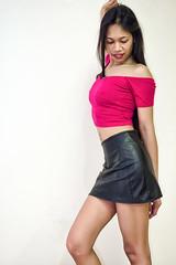 pink and leather (sexy kutinghk) Tags: filipina petite sexy asian beauty tiny babe portrait slim figure fit fucktoy slut horny beautiful hot stunning model pinay slutware slutwear girl woman erotic clubwear sexiest