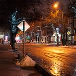 Ночные улицы города   Night streets of the city thumbnail