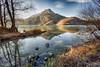 Luce del solstizio. (valpil58) Tags: lagodicavazzoodeitrecomuni mirror solstice ultrawideanglelens nikond800 nikon1424mm friuli landscape lake