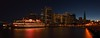 SF Night (cb dg photo) Tags: salesforcetower bluehour sanfranciscobelle hornblowercruises panorama longexposure embarcaderocenter flare sunset wood pier waterfront city lamps lights transamericapyramid telegraphhill coittower sanfranciscobay sf california sanfrancisco pier7