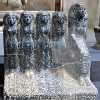 Priest Sobekhotep with his family