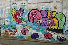 Lady Aiko - Newtown 2017 (Mr Baggins) Tags: streetart graffiti johannesburg jozi newtown ladyaiko