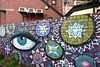 the eye (Harry Halibut) Tags: 2017©andrewpettigrew allrightsreserved imagesofsheffield images sheffieldarchitecture sheffieldbuildings colourbysoftwarelaziness sheffield south yorkshire publicartinsheffield public art streetart graffiti murals curved corners sheff1711064893 abbeydale road old white cinema picture palace red brick aircon air conditioning units car park