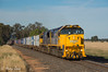 Afternoon Arcadia (Henry's Railway Gallery) Tags: xr557 xr555 xrclass emd diesel clyde exxclass rebuilt pacificnational pn 9306 containertrain freighttrain tocumwal arcadia