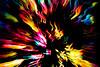 zooming (mariola aga) Tags: fiberlight light night panning zooming abstract art