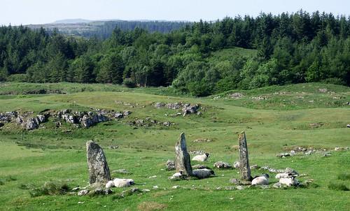 Glengorm stone row