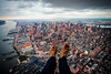 Shoe Selfie (Terry Moran Photography) Tags: new york city ny nyc big apple nikon d810 nikkor usa flynyon manhattan helicopter birds eye view sky skyline landscape cityscape structures