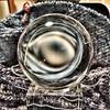 Magic eye (Sockenhummel) Tags: wunderwollerwinterzauberheimlichverstrickt adventkalender adventkalenderedition2017 2017 winterzauber wunderwollerwinterzauber stricken knitting handarbeit herru chestnutcabin yarn tuch dreiecktuch schal scarf wolle appleiphone6s shawl uetrecht handmade kugel kristallkugel magiceyé explore explored fluidr explorer today'sexplore inexplore