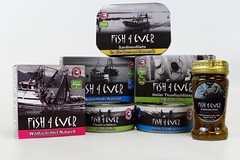 fish4ever products- german range (OrganicoRealfoods) Tags: german fish productshot oliveoil sunfloweroil pinksalmon tuna sardines