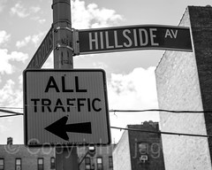 HILLSIDE AV Street Name Sign, Fort George, New York City (jag9889) Tags: 2017 20171125 architecture bw blackandwhite bogardusplace building everardusbogardus fortgeorge hillsideavenue house jamesbogardus manhattan monochrome ny nyc newyork newyorkcity outdoor post road sign signpost street text traffic usa unitedstates unitedstatesofamerica uppermanhattan wahi washingtonheights jag9889