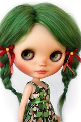 Green haired big sister :)