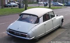 Citroën ID 19P 1966 (XBXG) Tags: de1280 citroën id 19p 1966 id19 ds citroënds déesse snoek strijkijzer tiburón planetenlaan haarlem nederland holland netherlands paysbas vintage old classic french car auto automobile voiture ancienne française vehicle outdoor