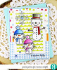 Cool Friends (akeptlife) Tags: coolfriends reverseconfetti snowman winter cardmaking card stamping stamp die scallopstripepanel letitsnow cheerfulandkind