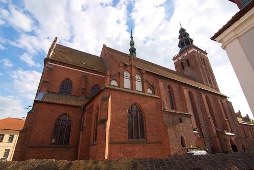 Kolegiata św. Piotra i Pawła w Lidzbarku Warmińskim od północy