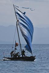 Final cicumnavigation landing (Sven Rudolf Jan) Tags: papuanewguinea alotau canoeandkundufestival canoe thorjensen