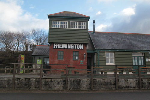 SWCP: Fremington Railway Station