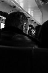 Buildings,People and Ukraine (cekic photography) Tags: ukraine odessa life girl train photography photojournalism journey travel people photojournalist blackandwhite siyah beyaz art photographer human face fujifilm