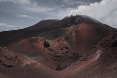 Etna (Ти Не Си Динозавър) Tags: etna dog volcano active italy sicily catania mount nature contrast composition color colour dust sun shadow sky alone art washout white road tone outdoor fujifilm xt1 documentary high journey low clouds exposure animal landscape soil mountain snow sheep carlzeiss