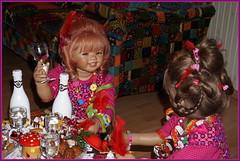 Einen guten Rutsch ... noch 60 Minuten ... (Kindergartenkinder) Tags: kindergartenkinder annette himstedt dolls silvester sanrike milina