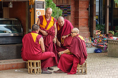 Kathmandu (Hobbyallradler) Tags: kathmandu mönche stupavonbodnath nepal buddhismus