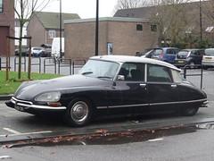 1973 Citroën DSuper (harry_nl) Tags: netherlands nederland 2017 dordrecht citroën ds dsuper fgts28 sidecode5
