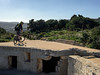On the Roof (Gee & Kay Webb) Tags: mtb mountainbike bike bicycle cycling riding outdoors fortcampbell malta sky trees buildings