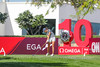 Justine Dreher of France (andre_engelmann) Tags: 2017 6 9 december damen dubai golf lpga turnier ladies european tour omega masters runde tag gras vereinigten arabischen emirate