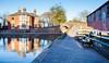Fazeley canal junction_ (Mirrorfinish) Tags: birminghamandfazeleycanal canal britishwaterways coventrycanal heritage fazeley tamworth staffordshire england