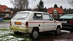 Fiat Panda 34 White 1985 (XBXG) Tags: np54xr fiat panda 34 white 1985 fiatpanda blanc johannes geradtsweg hilversum nederland holland netherlands paysbas vintage old classic italian car auto automobile voiture ancienne italienne italie italia italy vehicle outdoor