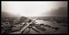 River Fog (Pinhole) (DRCPhoto) Tags: zeroimage612b pinhole lenslessphotography kodakbw400cn 120film westvirginia cheatriver