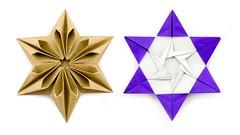 Origami Augustar Star Tutorial (José Meeusen) ★ Paper Kawaii (paperkawaii) Tags: origami instructions paperkawaii papercraft diy how video youtube tutorial
