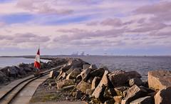 Molhes da Barra, Rio Grande (crismdl) Tags: riogrande porto molhes vagoneta trilhos cassino riograndedosul rs brasil brésil brazil praia oceano mar litoral sul sunset pordosol