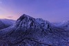 Buachaille Etive Mor Dawn (Chris_Hoskins) Tags: wwwexpressionsofscotlandcom scottishlandscapephotography scotland winter herdsman glencoe dawn scottishlandscape bluehour beinnachrulaiste rivercoupall buachailleetivemor scottishwinter landscape