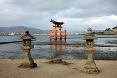 Itsukushima at Low Tide (Miyajima, Japan) (Free For Commercial Use (FFC)) Tags: itsukushima lowtide miyajima japan sea island freetravelimage world adventure escape travel freedownload freeforcommercialuse creativecommons creativecommonsattribution