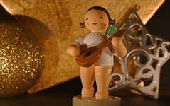 little angel in the candlelight (karinrogmann) Tags: macromondays december18 litbycandlelight angel 4tealights