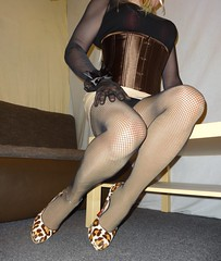 DSC02403 (Mandy Buffalo) Tags: buffalo leo stilettos stiletto skirt highheels heels high heel higheels corsage mini