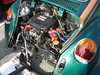 1974 Volkswagen Beetle (splattergraphics) Tags: 1974 volkswagen beetle engine subaru volksrod vw customcar beetleru carshow showbeforesnow midmdfordclub townmallofwestminster westminstermd