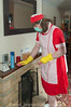 Red Overall & Long Check Tabard 2 10 (Maid Janet) Tags: tabard sissy charwoman domestic housekeeper housewife rubbergloves sissymaid cleaning skivvy cleaner crossdressing putzfrau maid dusting char housekeeping overall housework tranny chores crossdresser housemaid chambermaid scrubber