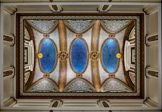 Atrium ceiling.