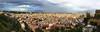 Naples. (julien ( l'ours )) Tags: canon eos 50d naples napoli belvédère san martino italie pluie nuage sky rain sunset coucher soleil ville city volvano volcan vesuve panoramique panosonic travel voyage