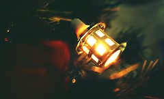 DSC05460-02 (suzyhazelwood) Tags: lights tree decorations christmas xmas creativecommons sony a6000 lantern vintage