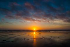 Ocean Shores (ValeTer_) Tags: nikond5000 oceanshores olympic usa washingtonstate ocean water sunset sun pacific pacificocean