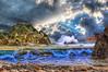 12-31-17 Ocean Dreams (Michael F. Nyiri) Tags: composite compositeartwork arty art ocean sea cloudscapes clouds waves
