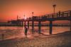 When it all goes down... (b_represent) Tags: landscape landschaft balticsea ostsee beach sunset pier sea meer germany