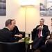 Außenministerin Kneissl trifft ehem. VN-GS Ban Ki Moon sowie Altbundespräsidenten Dr. Heinz Fischer